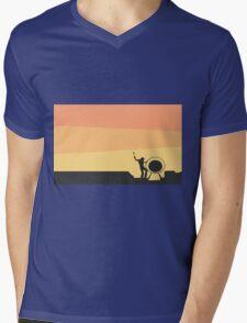Pink Floyd Live At Pompeii Mens V-Neck T-Shirt
