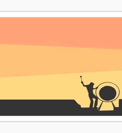 Pink Floyd Live At Pompeii Sticker