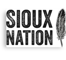 The Sioux Nation Canvas Print