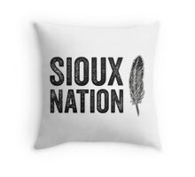 The Sioux Nation Throw Pillow