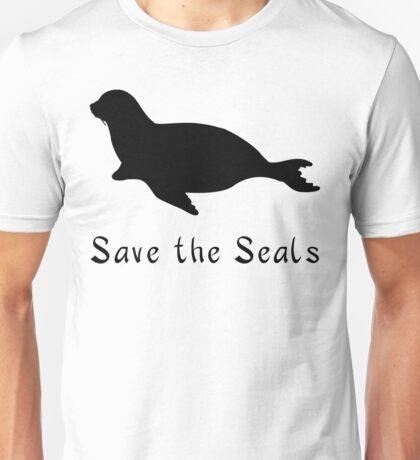 Save the Seals! Unisex T-Shirt
