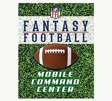 Fantasy Football Command Center Turf by heliconista