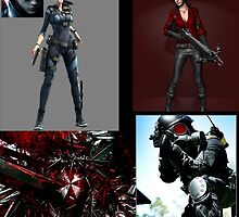 favorite resident evil characters by SRV7792
