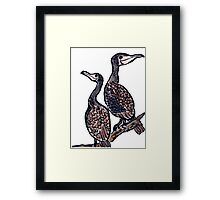 The Cormorants Framed Print