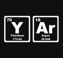 Yar - Periodic Table Kids Tee