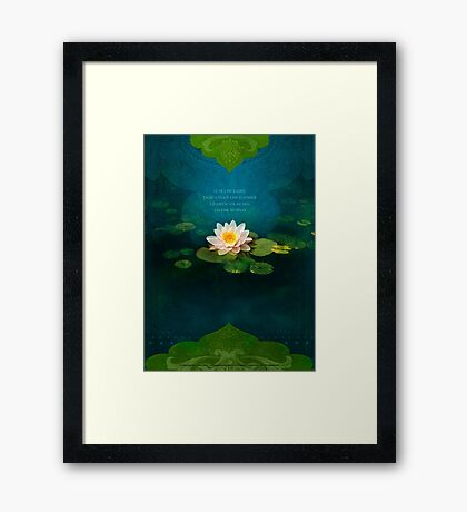 Bouquet of Light Framed Print