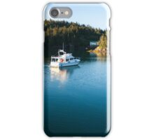 Evening Serenity at Halibut Cove iPhone Case/Skin