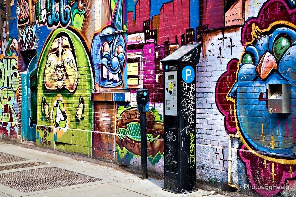 Street Art I by PhotosByHealy