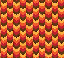Thanksgiving Fall Chevron by HolidaySwaggT