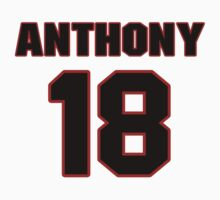 NFL Player Anthony McClung eighteen 18 by imsport
