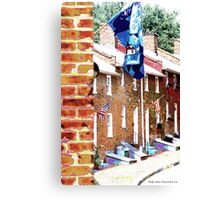 Historic Oella Refurbished Canvas Print