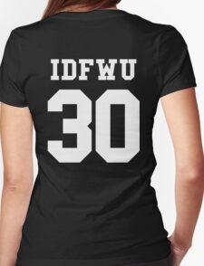 IDFWU Jersey Womens Fitted T-Shirt