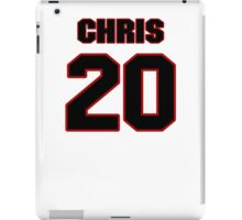 NFL Player Chris Clemons twenty 20 iPad Case/Skin