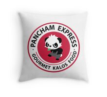 Pancham Express Throw Pillow