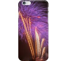 Purple Palm Trees – Boston Fireworks iPhone Case/Skin