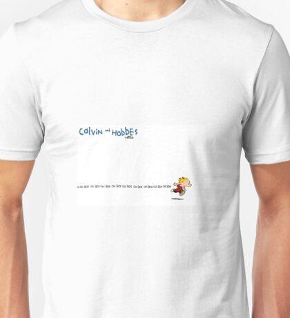 oh boy calvin Unisex T-Shirt