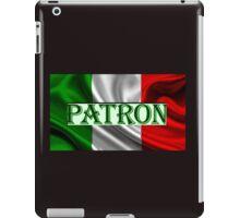 ITILIAN FLAG with the word PATRON iPad Case/Skin