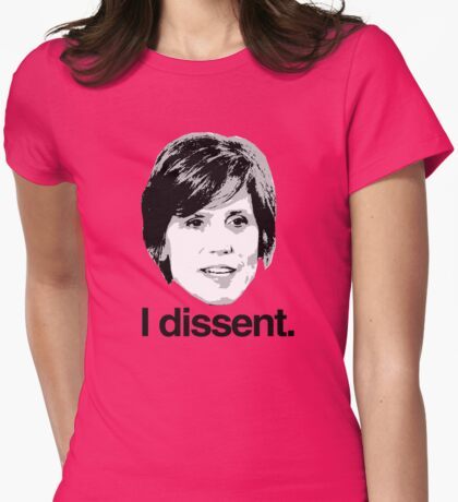Sally Yates I dissent Womens Fitted T-Shirt