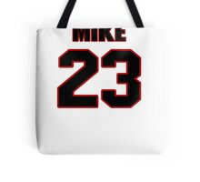 NFL Player Mike Goodson twentythree 23 Tote Bag