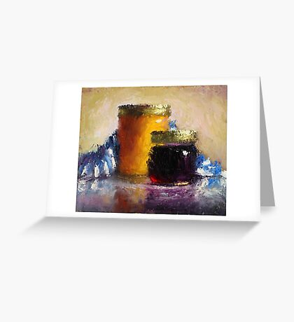 Honey Jar, Jam Greeting Card