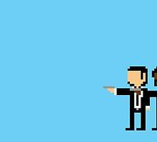 Pulp Fiction Pixelized by Zack Kalimero