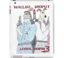 Wallace and Gromit: Lethal Weapon iPad Case/Skin