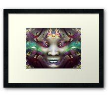Rainbow Dragon Spirit Framed Print