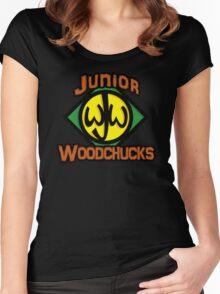 Junior Woodchucks Women's Fitted Scoop T-Shirt