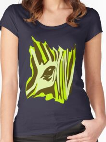 Wildlife Zebra Women's Fitted Scoop T-Shirt