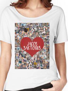 I love Jacob Sartorius Women's Relaxed Fit T-Shirt