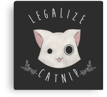 Legalize Catnip Canvas Print