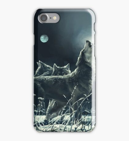 Winter Wolves iPhone Case/Skin