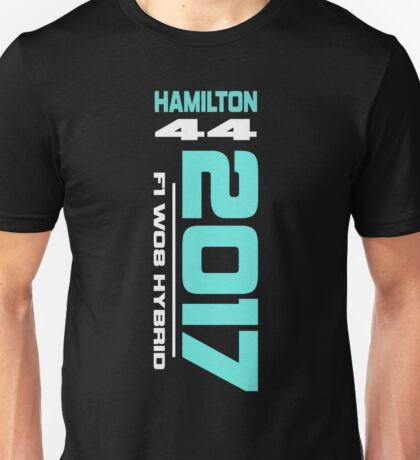 Lewis Hamilton 2017 Mercedes F1 Design Unisex T-Shirt