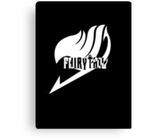 【4300+ views】Fairy Tail in White Canvas Print