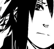 【5000+ views】NARUTO: Sasuke T-shirt in Black Sticker