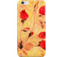 Silky Red Roses iPhone Case/Skin