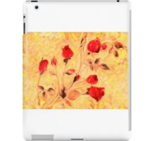 Silky Red Roses iPad Case/Skin
