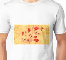 Silky Red Roses Unisex T-Shirt