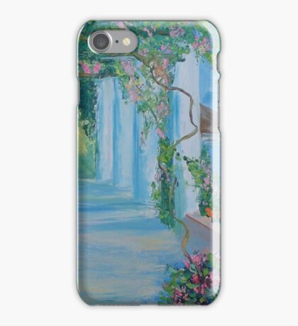 Mediterranean motif iPhone Case/Skin