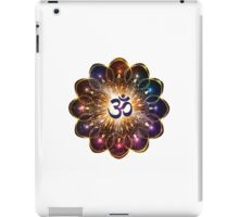 """The higher power of Om"" - sacred geometry iPad Case/Skin"