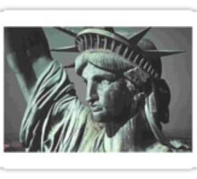 Statue Liberty Sticker