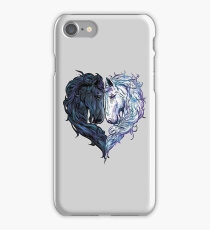 Love Horses iPhone Case/Skin