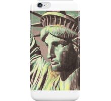 statue-of-liberty-2 iPhone Case/Skin