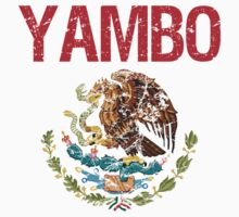 Yambo Surname Mexican Kids Clothes