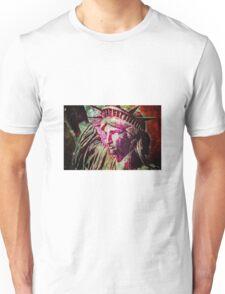 statue-of-liberty-2a Unisex T-Shirt