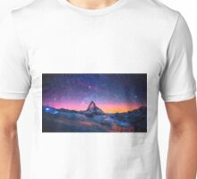 Winter Night High Peak Unisex T-Shirt