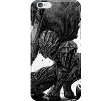 Guts In Berserker armor  iPhone Case/Skin