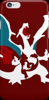 【23100+ views】Pokemon Charmander>Charmeleon>Charizard by Ruo7in