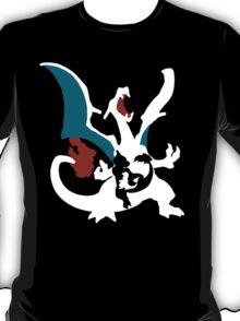 【23100+ views】Pokemon Charmander>Charmeleon>Charizard T-Shirt