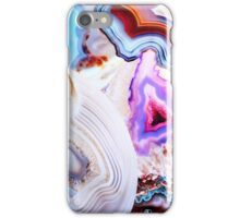 Agate Rocks, Slices of Earth iPhone Case/Skin